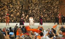 Audiencja z Papieżem Franciszkiem - 17.05.2014