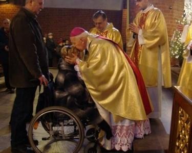 Niepełnosprawni wzmocnili się duchowo