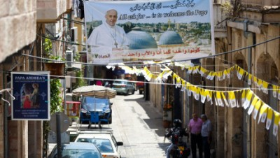 Preparations in Jerusalem ahead of Pope Francis visit