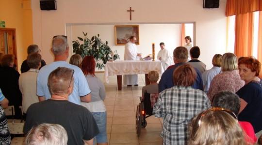 Rekolekcje w Centrum Ochotników Cierpienia Archidiecezji Warmińskiej