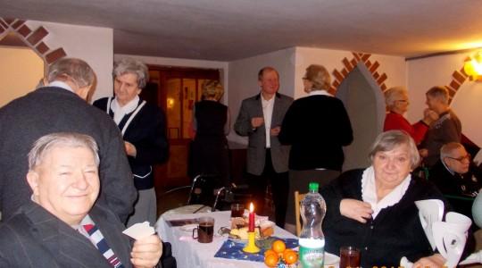 Spotkanie opłatkowe wspólnoty Centrum Ochotników Cierpienia Diecezji Bydgoskiej.