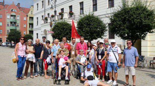 Włoscy Pielgrzymi na Światowe Dni Młodzieży w Domu Uzdrowienie Chorych