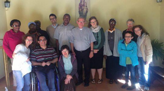 Spotkanie Cichych Pracownikow Krzyza w Valleluogo