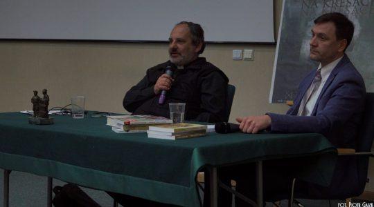 Spotkanie ze znanym historykiem, autorem książek, księdzem Tadeuszem Isakowiczem - Zalewskim.