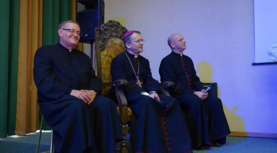 Wizytacja kanoniczna Ks Biskupa Tadeusza w dniu 2.04.2017
