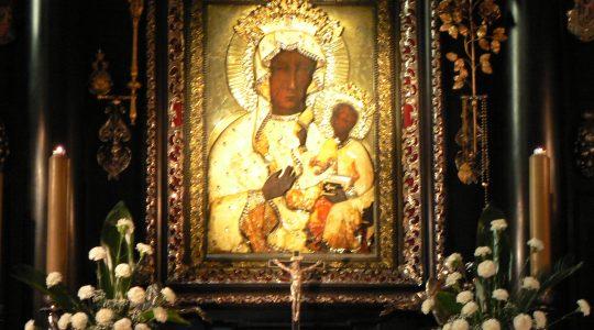 Uroczysta Msza święta na Jasnej Górze.