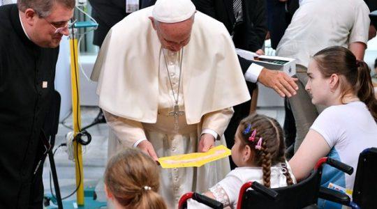 Przesłanie Papieża Franciszka do chorych w Fatimie 13.05.2017