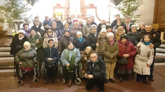 Spotkanie Noworoczne Centrum Ochotników Cierpienia Archidiecezji Warmińskiej.