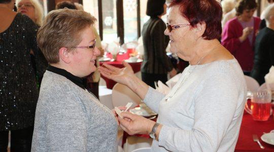 Spotkanie Opłatkowe Centrum Ochotników Cierpienie w Głogowie