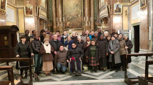 Dni formacyjne w Rzymie dla Cichych Pracowników Krzyża