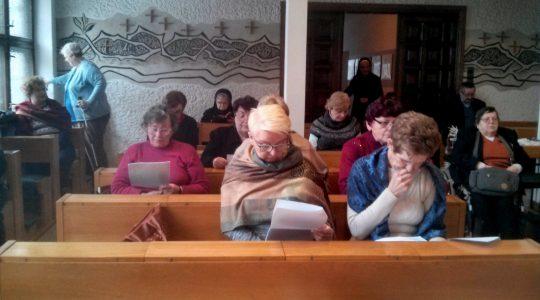 """""""Przyjdź Duchu Święty"""" Dzień skupienia w Gdańsku."""