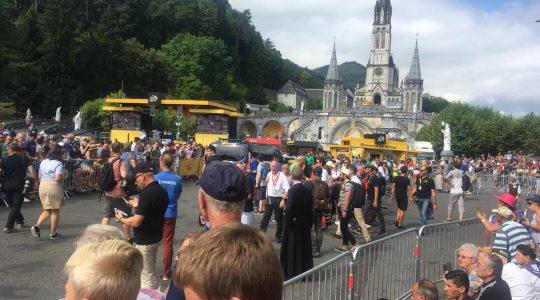Szczególny dzień w Lourdes