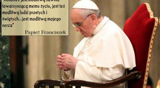 Prośba Papieża Franciszka do wiernych