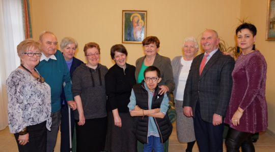 Dzień skupienia CVS diecezji zielonogórsko-gorzowskiej i urodziny siostry Małgorzaty