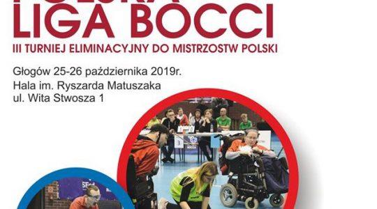 Polska Liga Bocci w Głogowie - III turniej eliminacyjny do Mistrzostw Polski