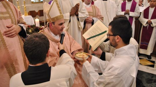 W niedzielę, 15 grudnia 2019r., nasz brat Wojciech Grzegorek otrzymał posługę akolitatu z rąk biskupa Paulo Borgia  w Kolegium Capranica w Rzymie.