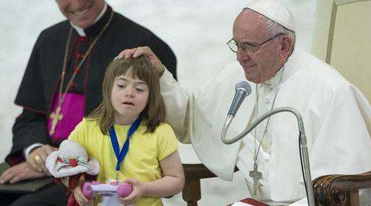 Orędzie Papieża Franciszka na Międzynarodowy Dzień Osób z Niepełnosprawnością