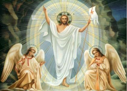 Pan Jezus Zmartwychwstał! Alleluja!