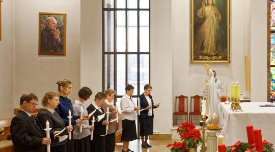 8 grudnia - odnowienie przyrzeczeń przez Cichych Pracowników Krzyża