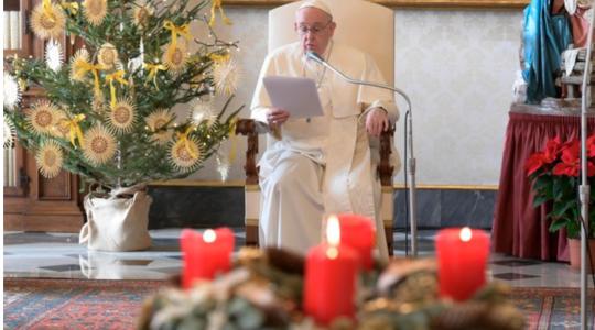 Rozważanie Papieża Franciszka Urbi et Orbi -25.12.2020