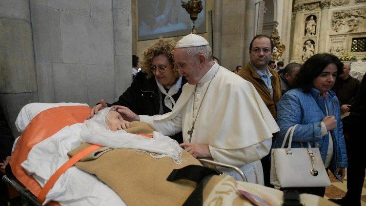 vativan media https://www.vaticannews.va/pl/papiez/news/2019-03/loreto-franciszek-unitalsi-paplor.html