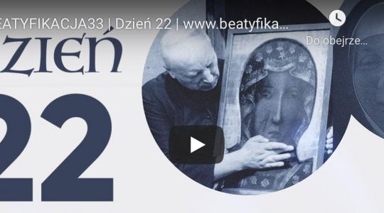 Beatyfikacja33 – dzień 22. Rekolekcje on-line przed beatyfikacją Prymasa Wyszyńskiego i Matki Czackiej
